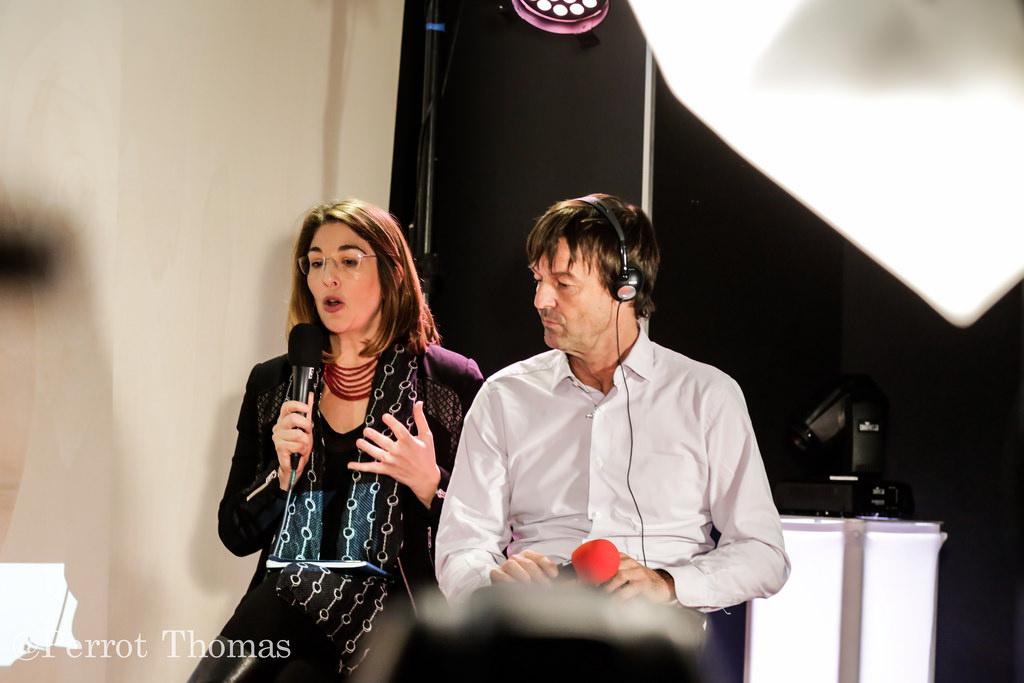 Nicolas Hulot et Naomi Klein