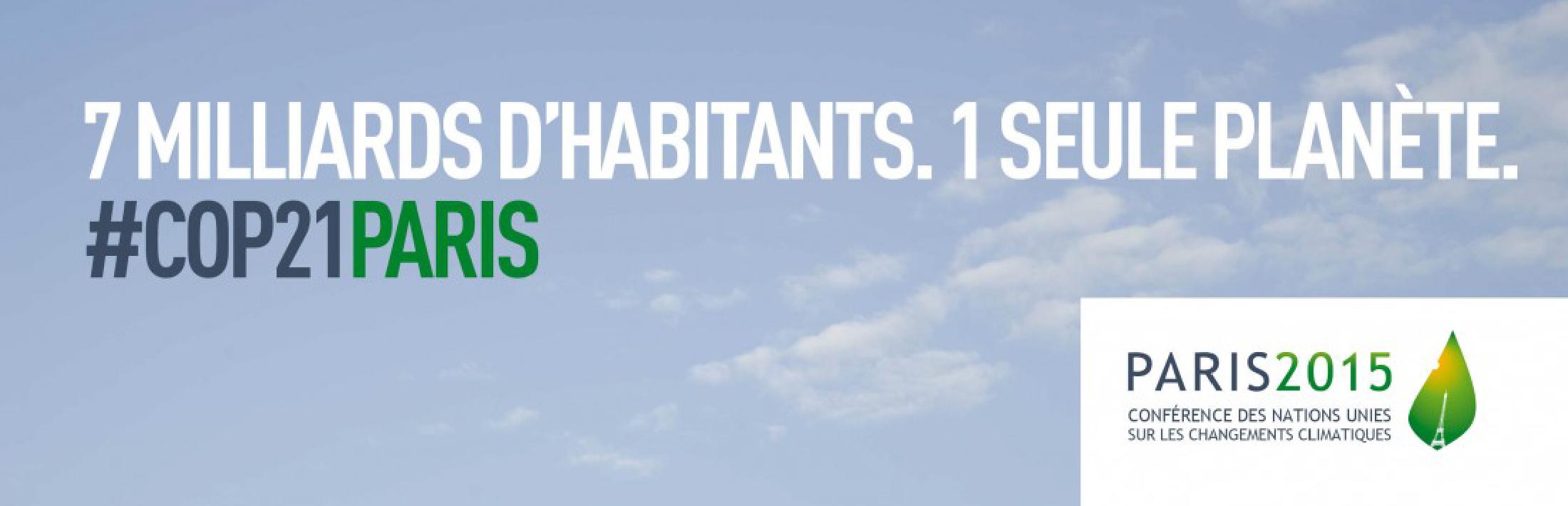 Affiche officielle COP21