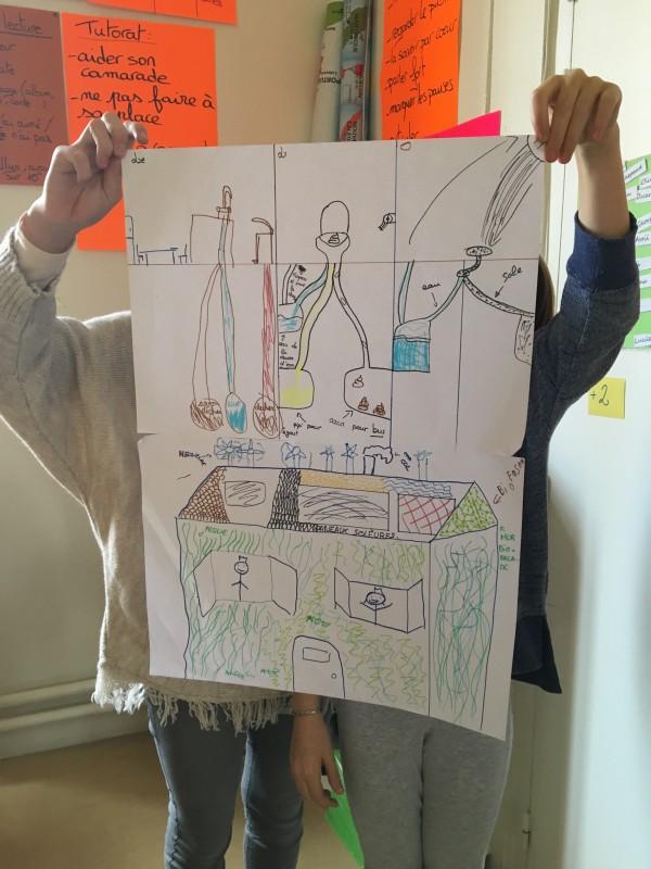 Les enfants présentent leur réalisation !