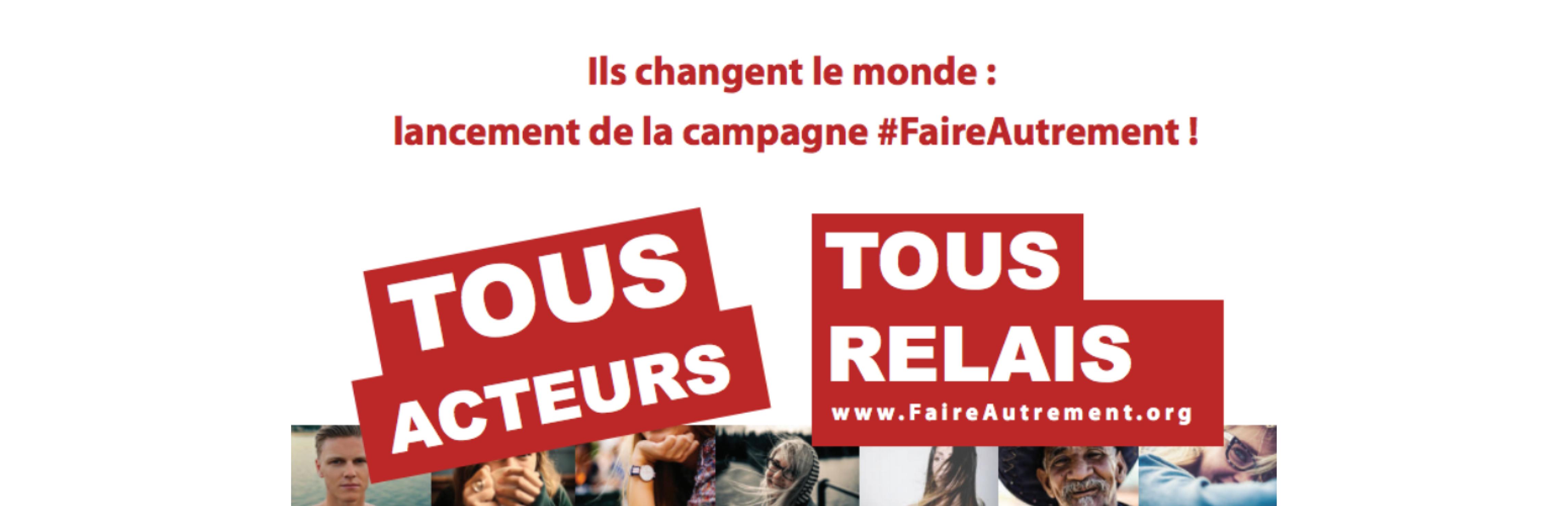 #Faireautrement
