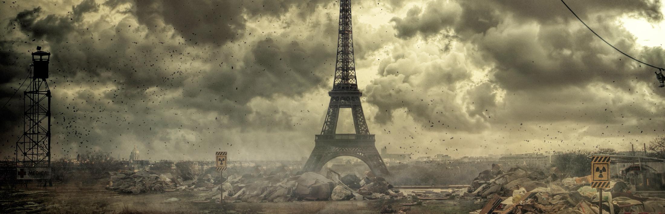 Paris après une catastrophe nucléaire